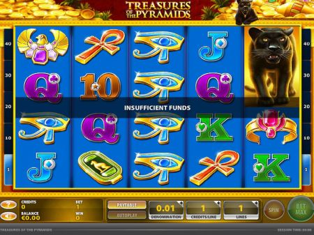 Treasures of the Pyramids Slots -GTECH