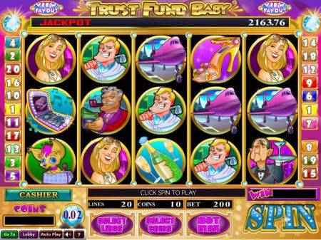 Trust Fund Baby Slots -Wizard Gaming