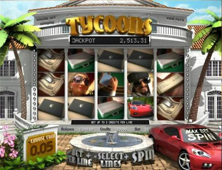 Tycoons Slots -BetSoft