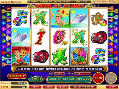Wheel of Chance 5-Reels Slots -WGS Technology