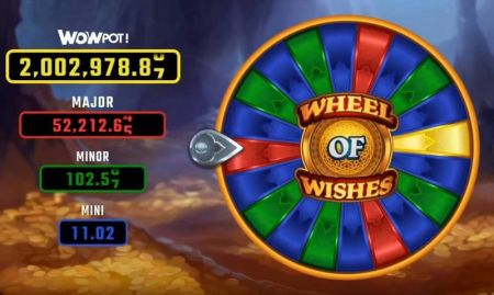Wheel of Wishes Slots -Microgaming