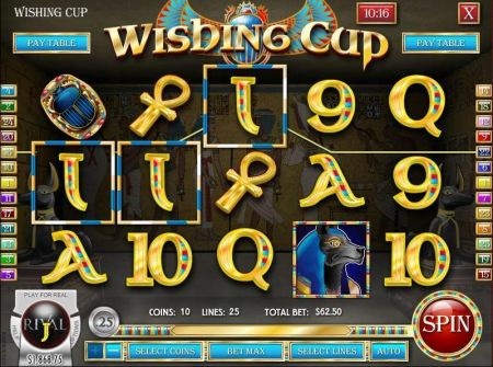 Wishing Cup Slots -Rival