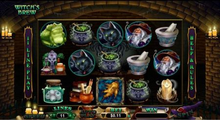 Witch's Brew Slots -RTG