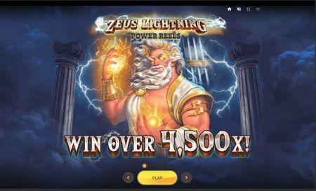 Zeus Lightning Slots -Red Tiger Gaming